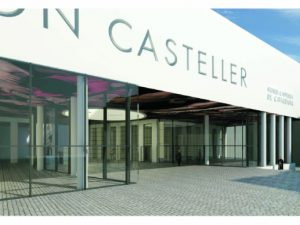 Acte d'inici de les obres del Museu Casteller De Catalunya