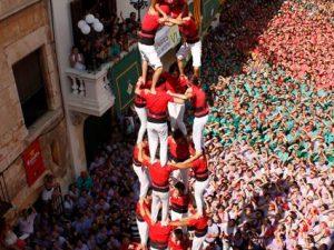 En homenatge als castellers de Banyeres del Penedès