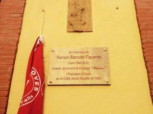 Emoció i castells en l'homenatge a Ramon Barrufet