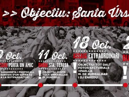 Objectiu Santa Úrsula #esperitdel86