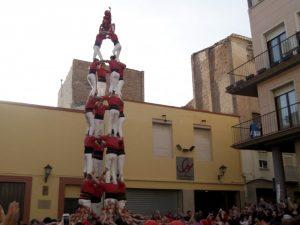 La Colla Joves Xiquets de Valls completa el primer 4de8 de l'any