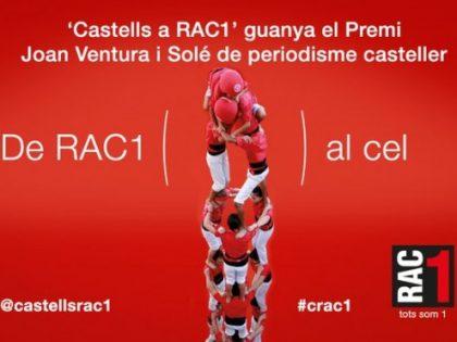 Premi Joan Ventura i Solé per Castells a Rac1