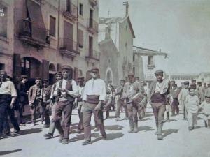 A Vilafranca a peu en homenatge als nostres avantpassats de la Roser