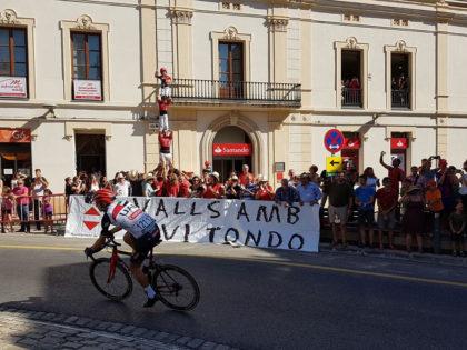 Pilar en homenatge a Xavi Tondo Volpini