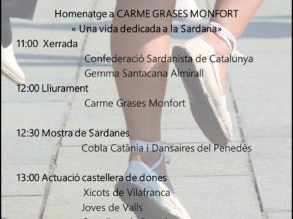 IV Homenatge Heroïnes Anònimes Carme Alomà