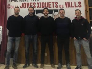 La Colla Joves Xiquets de Valls renova administrativa i manté les bases de la tècnica anterior