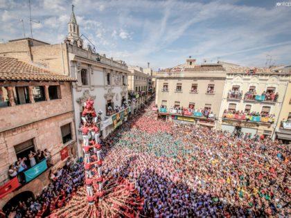 La Colla Joves Xiquets de Valls a Vilafranca del Penedès